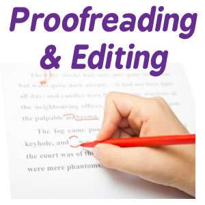 Proofreading-button