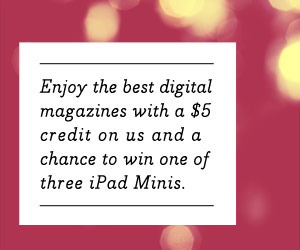 Win a digital magazine subscription