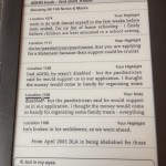 Proofreading on a Kindle