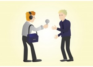 use interviews to promote your business