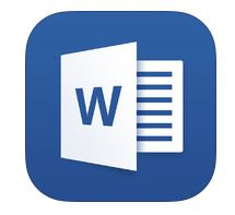 ipad for word