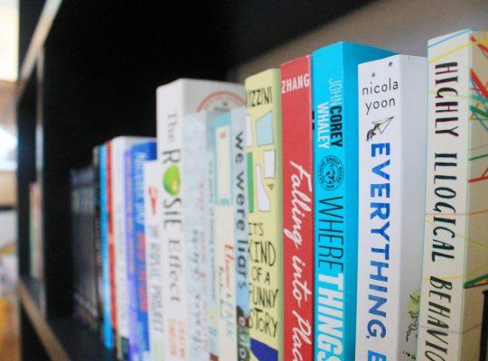 book trim size